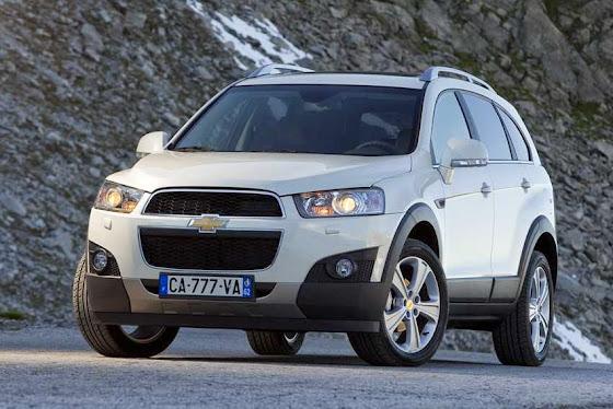 All New Chevrolet Captiva exterior