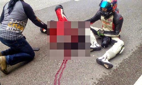NGERI Anggota TUDM Nyaris Maut Dalam Kemalangan 2 Foto