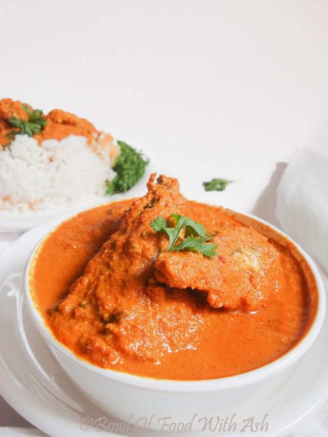 Coastal Karnataka Mackerel / Bangade Fish Curry