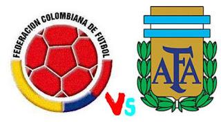 Colombia vs Argentina en vivo online