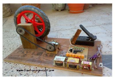 Electromagnetic disk braking system