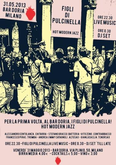 Figli di Pulcinella in concerto venerdì 31 maggio a Milano