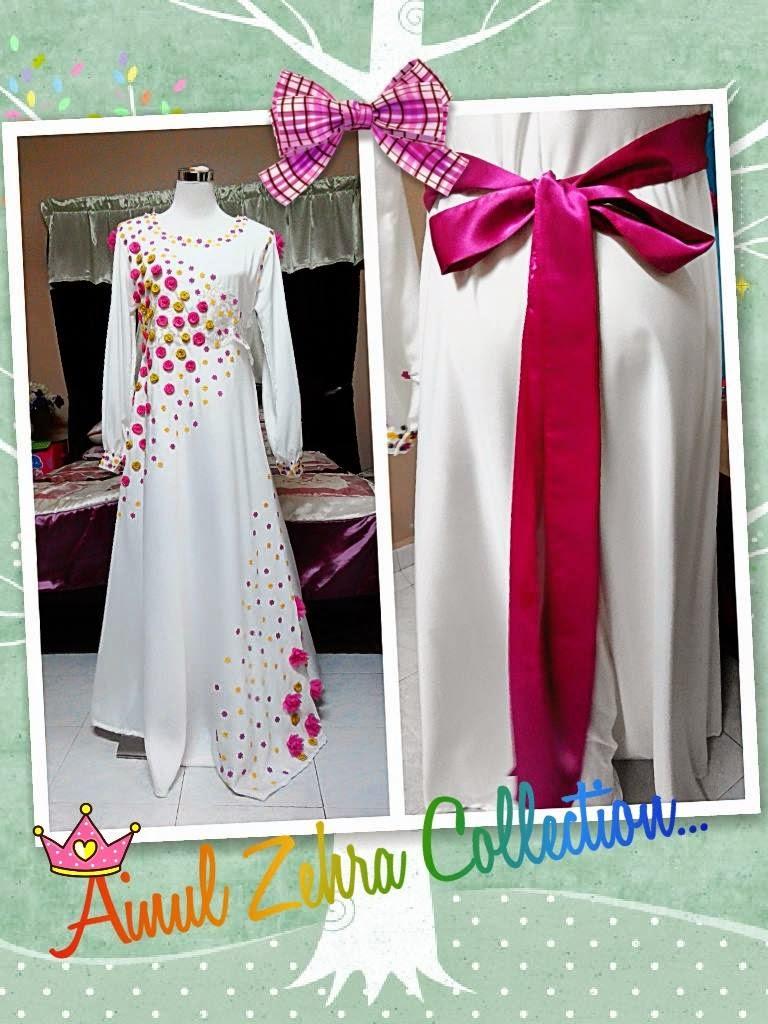 Dress Putih comel