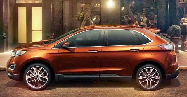 2016 Ford Edge Changes