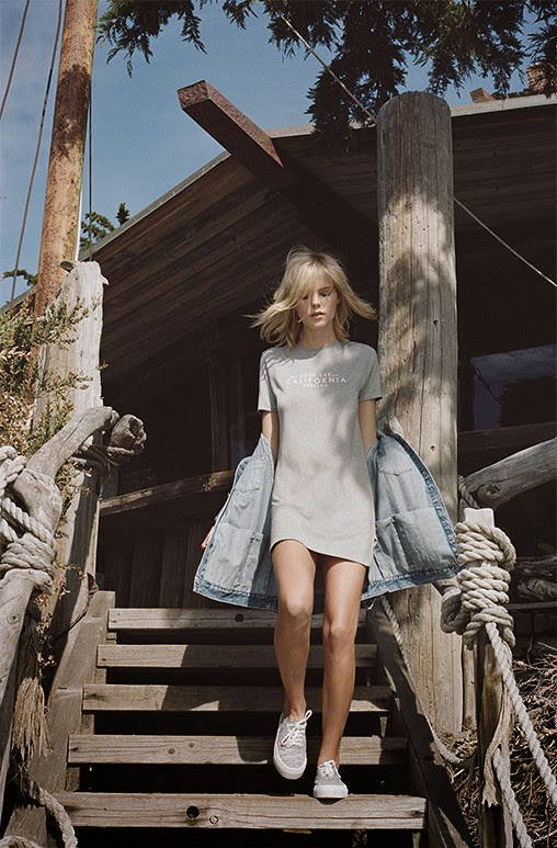 Pacific Girls Pull&Bear Editorial