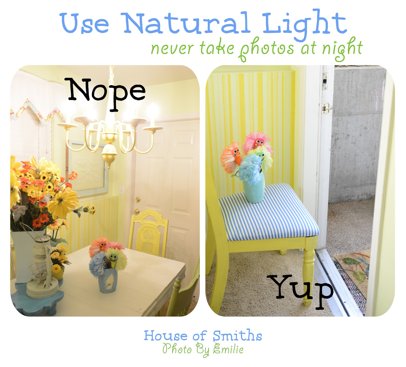 Using Natural Light For Photography House Updates