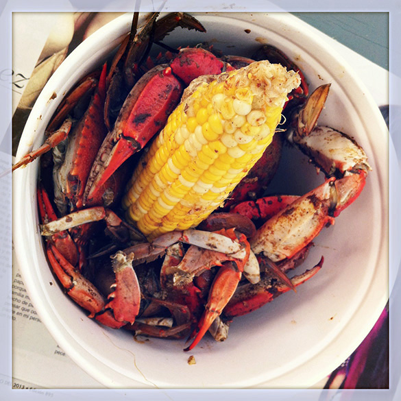 Back Forty West Crab Bucket