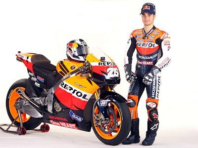 2011 Repsol Honda RC212V MotoGP Dani Pedrosa