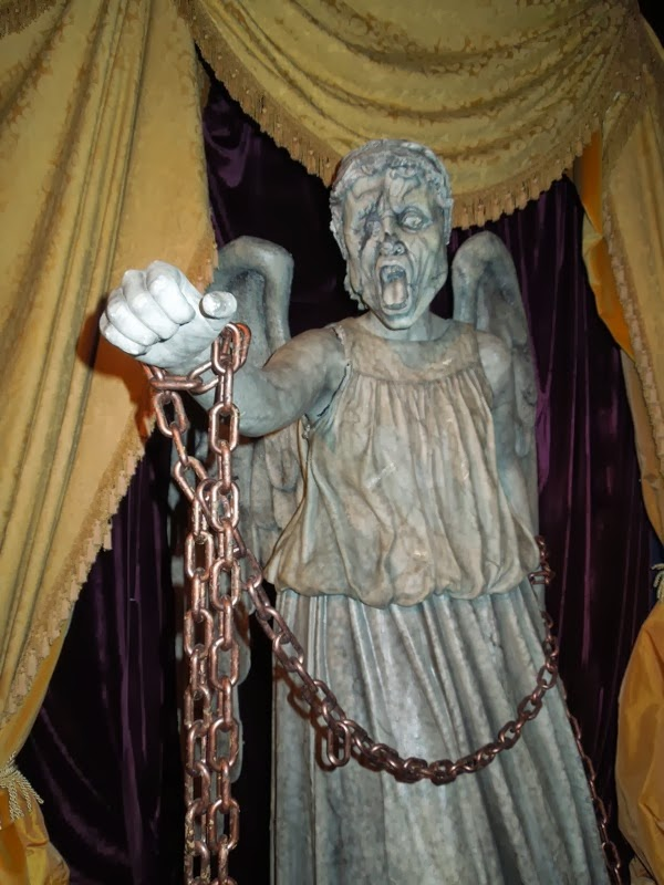 Doctor Who Weeping Angel prop