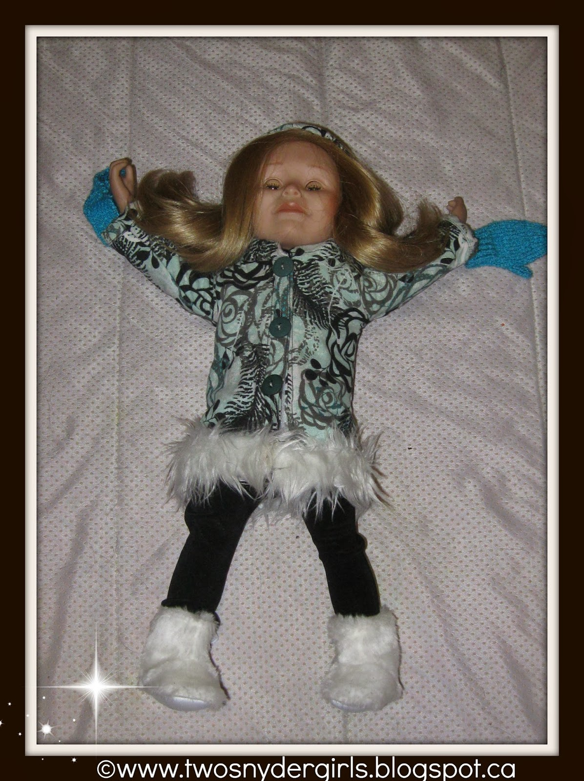 Maplelea 18 inch doll in winter coat