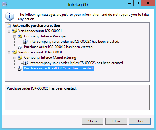 how to create intercompany sales order in ax 2012
