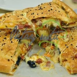 Örtülü Pizza Tarifi