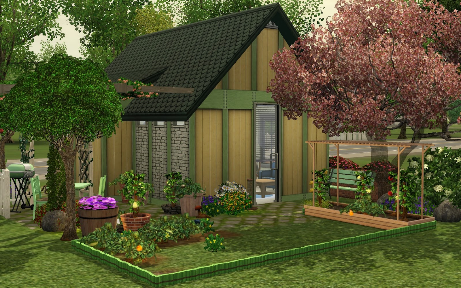 my sims 3 blog tiny basement by berryann