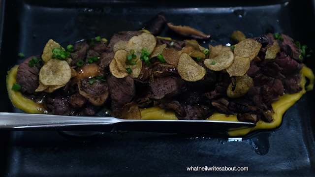 Neil Writes About Ooma Japanese Rice Bar Hanger Steak