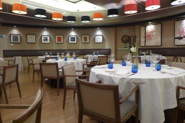 Restaurante As de Picas en el Casino de Asturias en Gijon - Comedor