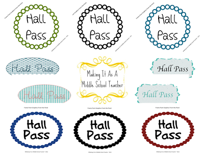 classroom diy diy hall passes with fewer germs