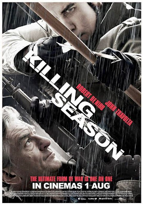 Killing Season movie poster malaysia with john travolta & robert de niro