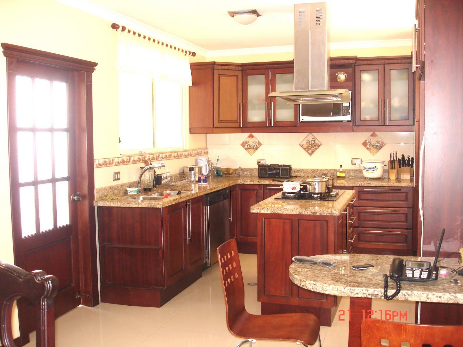 Ideatumobiliario muebles de cocina for Muebles aereos para cocina