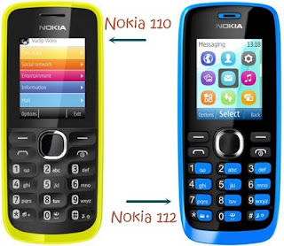 Nokia 110 and Nokia 112 are newly launched dual SIM phones