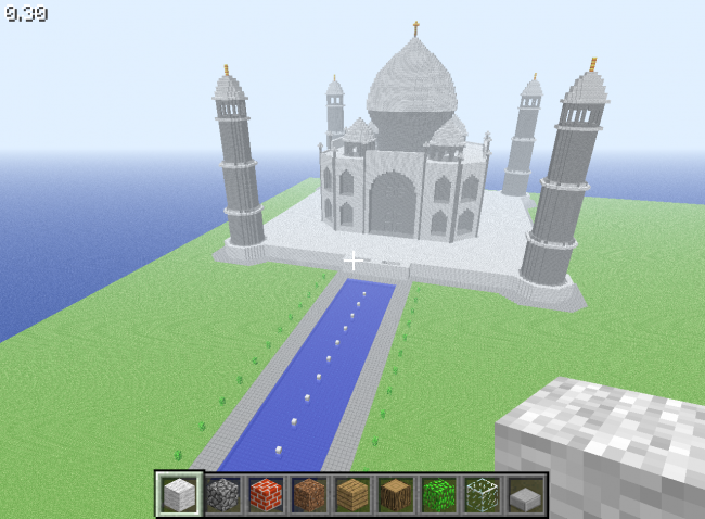 of liberty Minecraft style