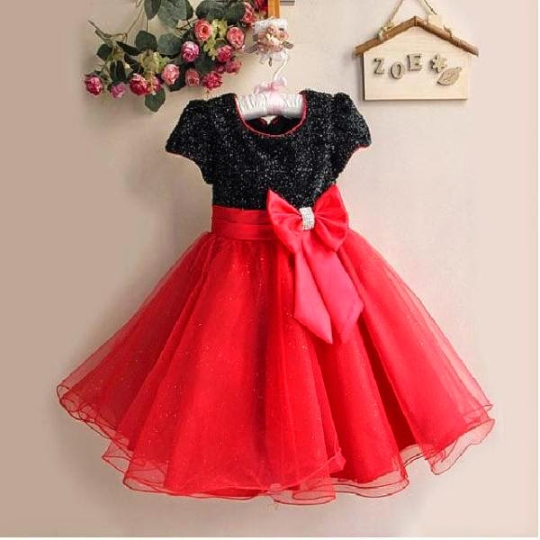 Contoh dress anak korea model terbaru