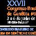 XXVII Congresso Brasileiro de Genética Médica