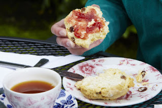 Cream tea at National Trust properties