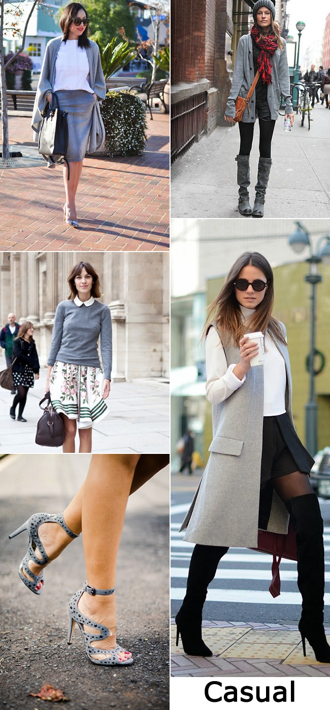 Fall Fashion Trend Grey