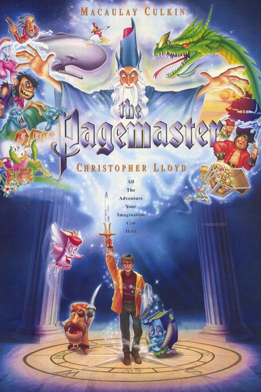 Pagemaster: O Mestre da Magia – Dublado (1994)