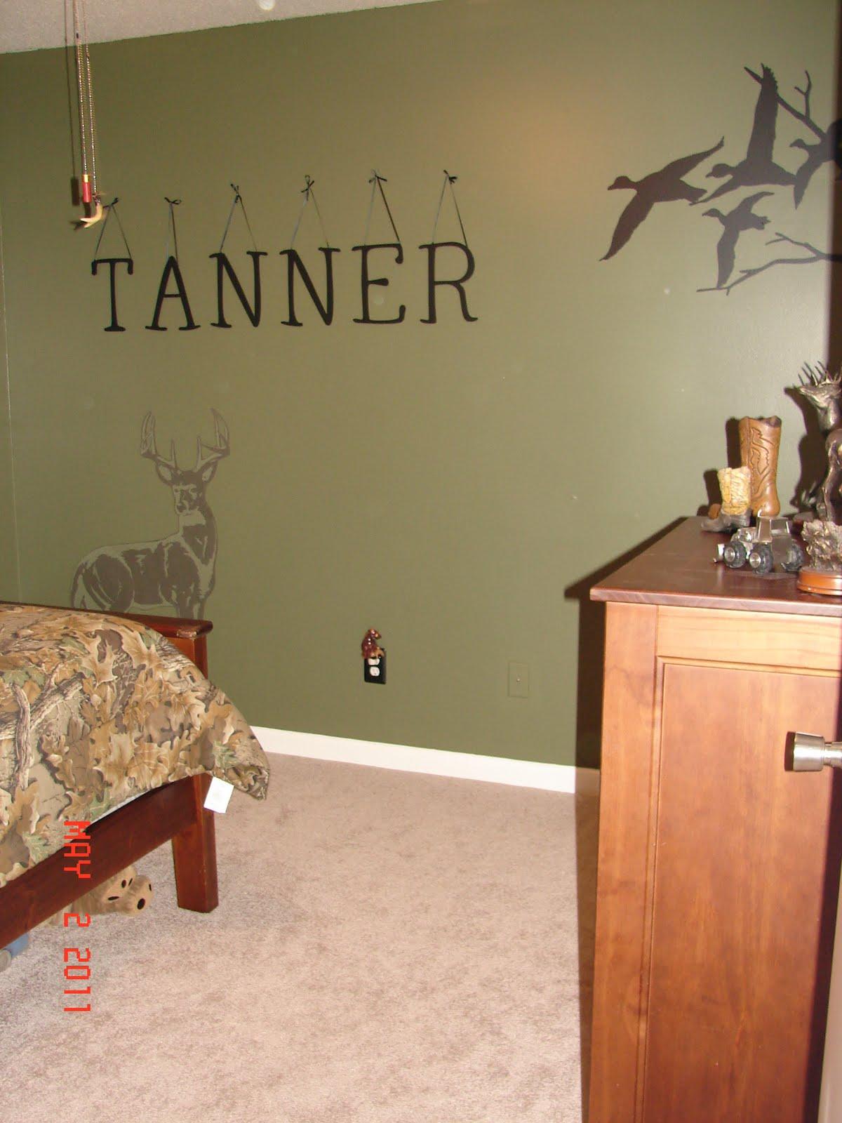 hunting theme boys bedroom ideas