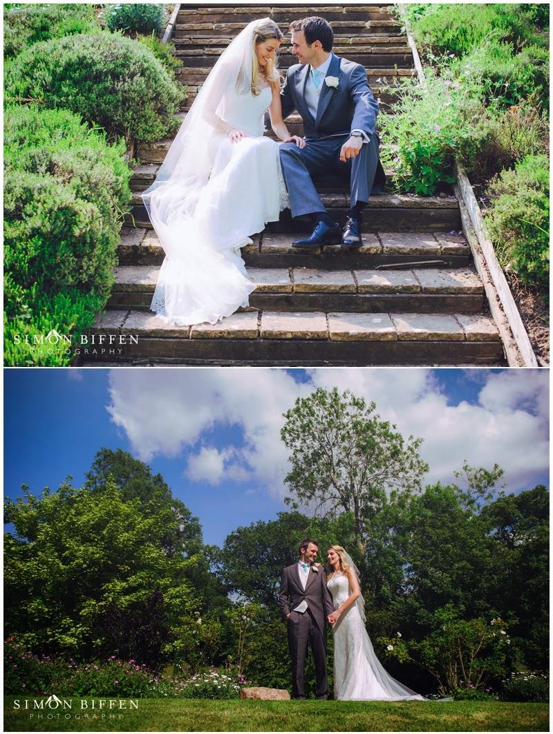 Bride and groom wedding photography somerset