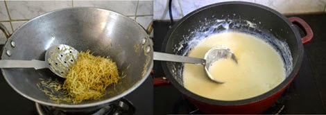 frying vermicelli