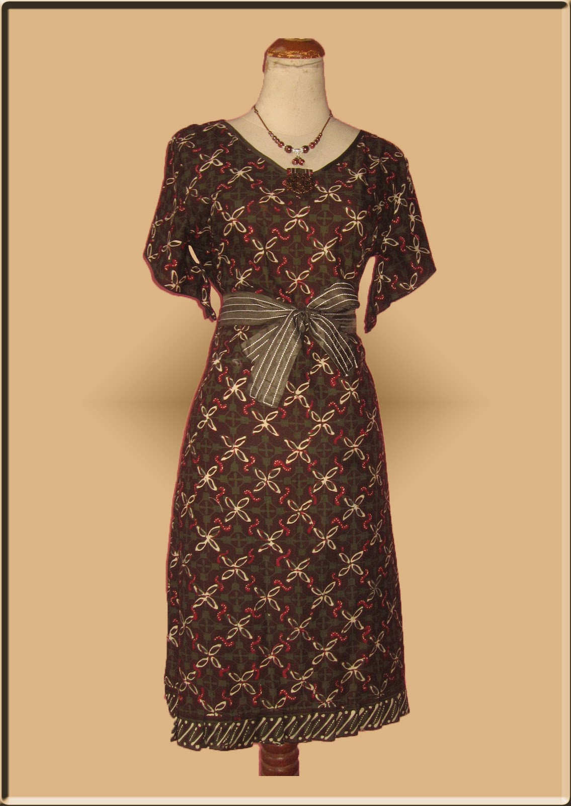 Dress Batik Terbaru
