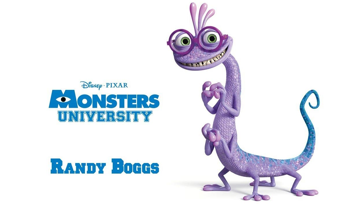 Randy Boggs from Monster's University