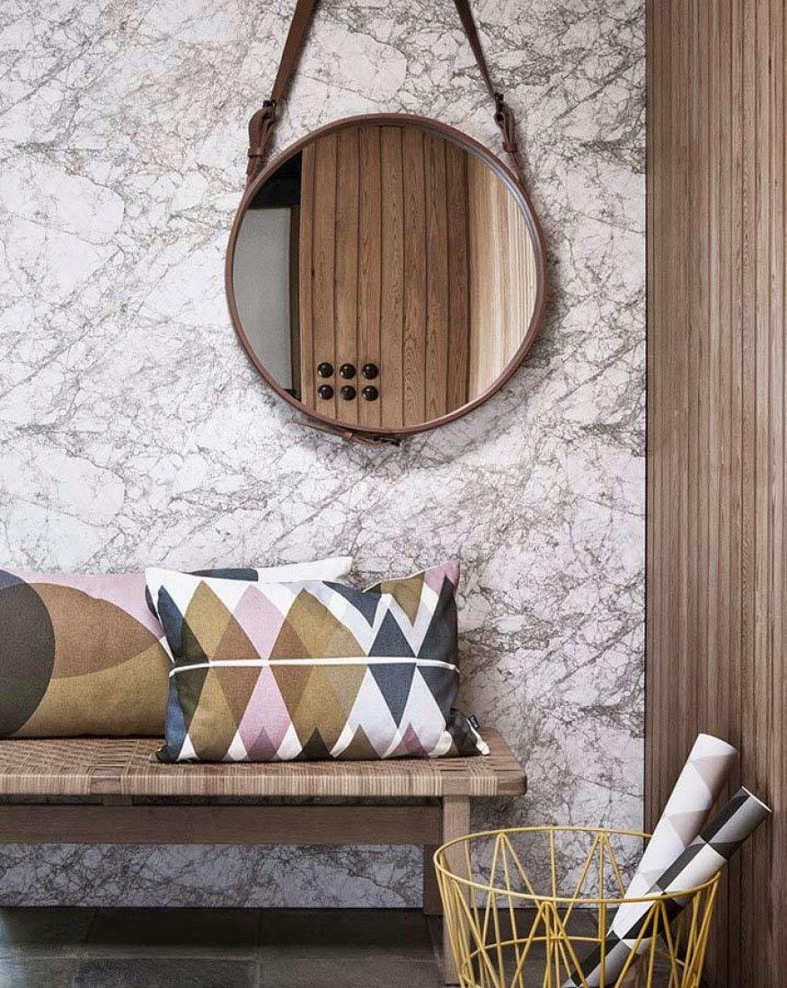 decorar las paredes con papel pintado es rpido sencillo y econmico de renovar tu bao las casas tienden a da a da y las paredes han