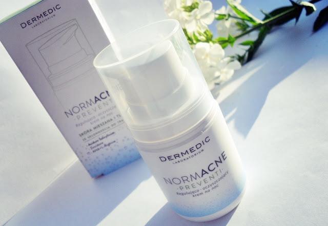 Dermedic, NORMACNE Preventi, regulująco - oczyszczający krem na noc