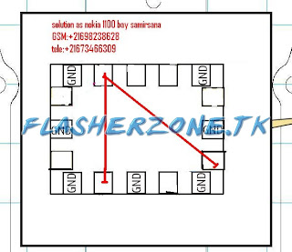 nokia 1100 network singnal jumper diagram hardware solution,nokia 2300  network singnal jumper diagram hardware solution