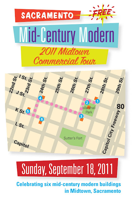 Free self-guided walking tour of six Midtown MCMs on September 18, 2011!