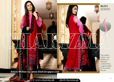Charizma Winter Dress Collection 2015