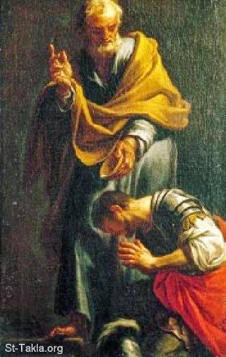 القديس كرنليوس قائد المائة
