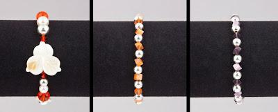 pulsera perlas cristales