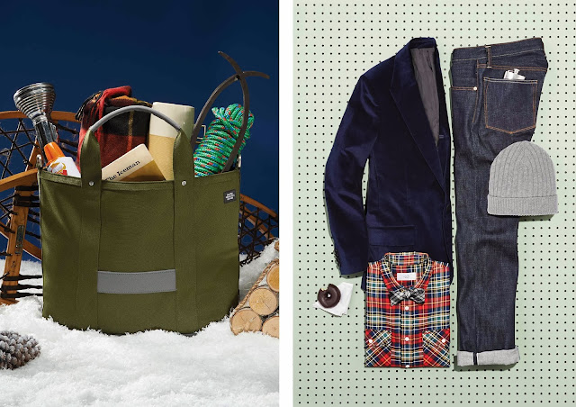 jack spade ny, jack spade holiday lookbook 2014, jack spade christmas gifts, jack spade menswear accessories, outfit grid, hiking, menswear blog