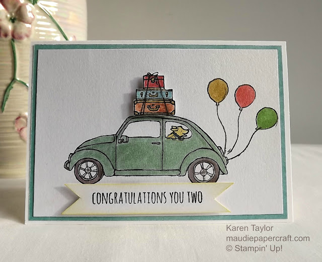 Stampin' Up! Beautiful Ride card
