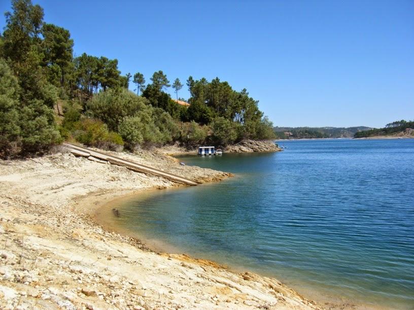 Praia fluvial de Castelo de Bode