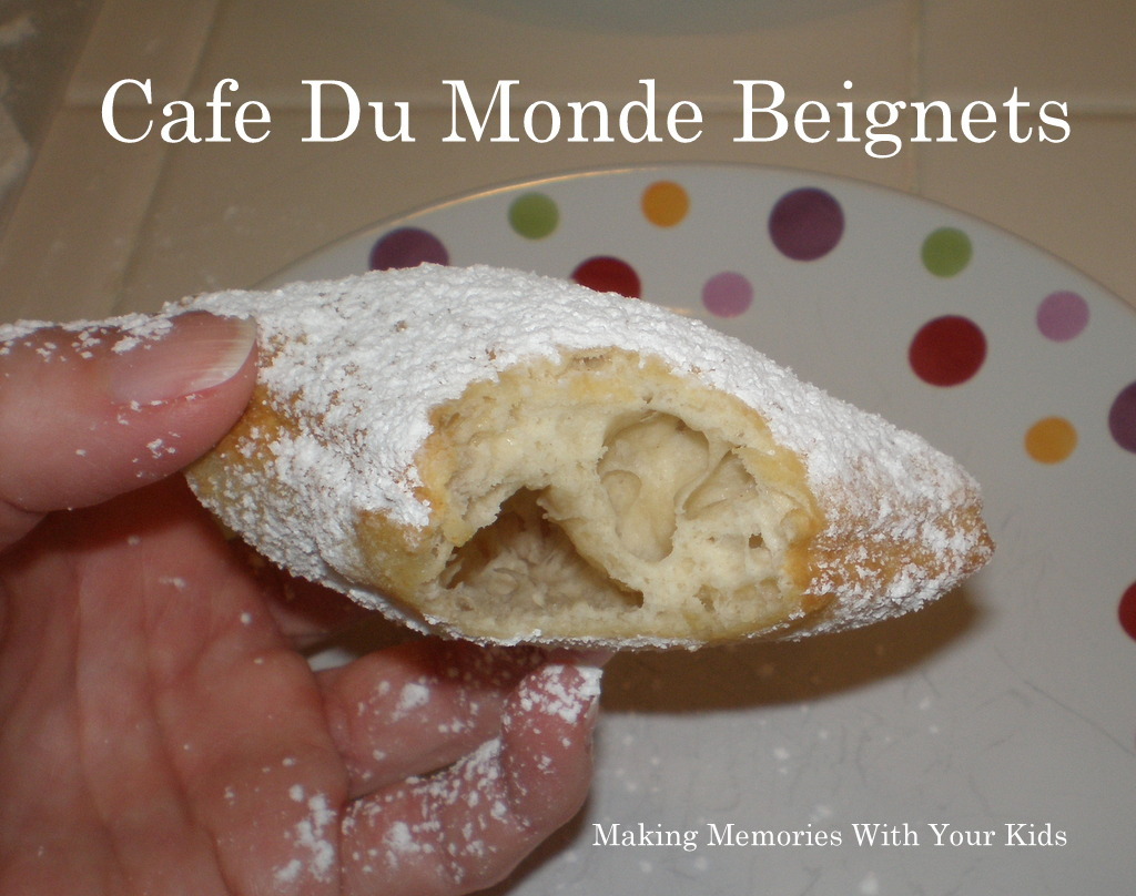 Cafe Du Monde Beignets - Making Memories With Your Kids