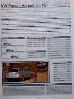 precio, motor, aceleracion, consumo, VW passat variant 2.0 fsi, equipamiento, luxury