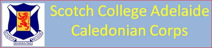 Scotch College Adelaide Caledonian Corps