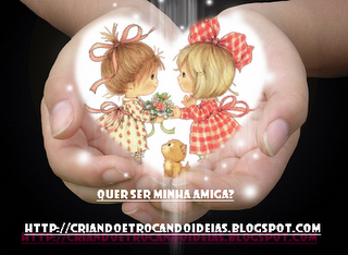 Mimo que ganhei da amiga Luciene do blog...