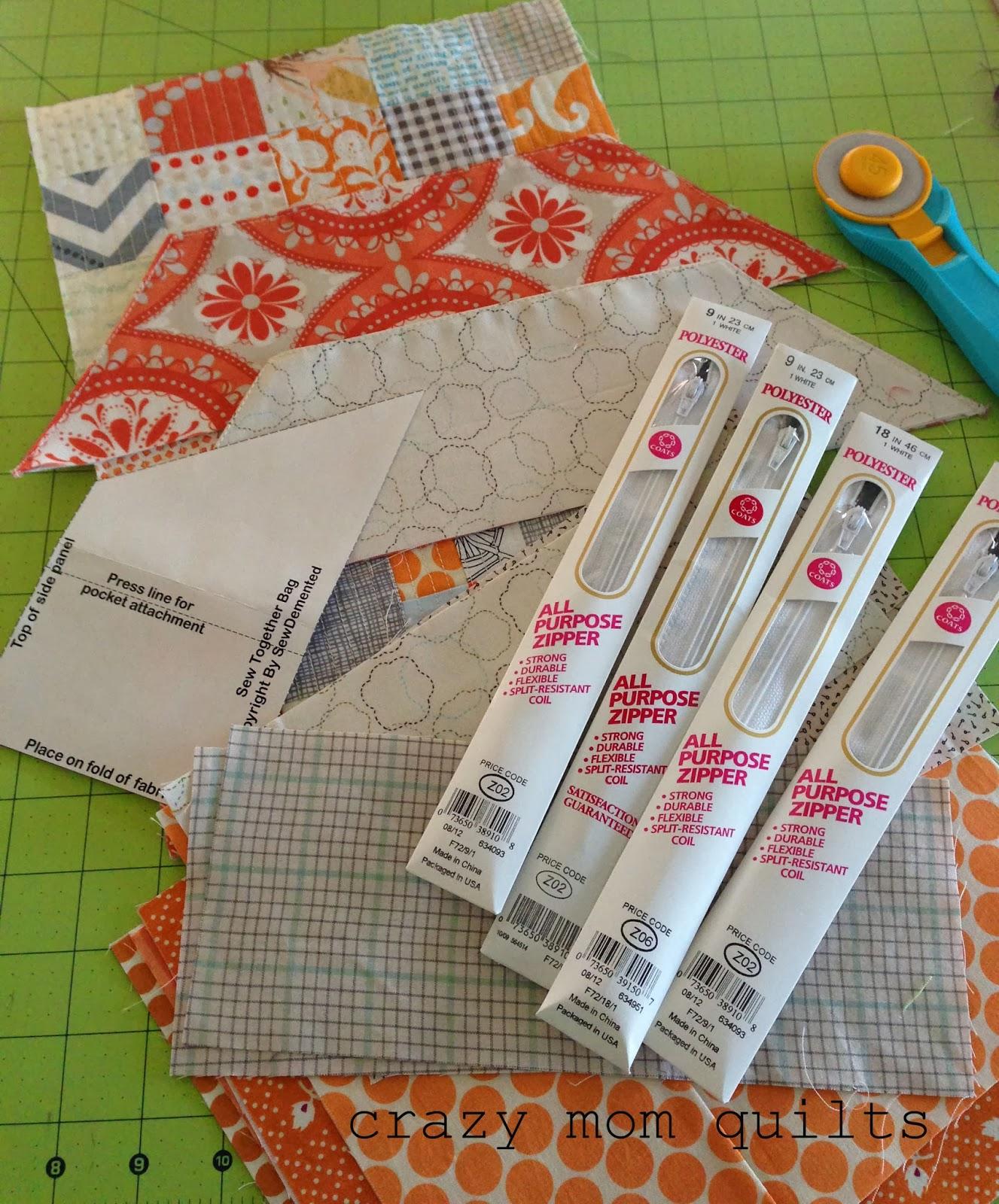 Crazy mom quilts sew together bag sew together bag jeuxipadfo Choice Image