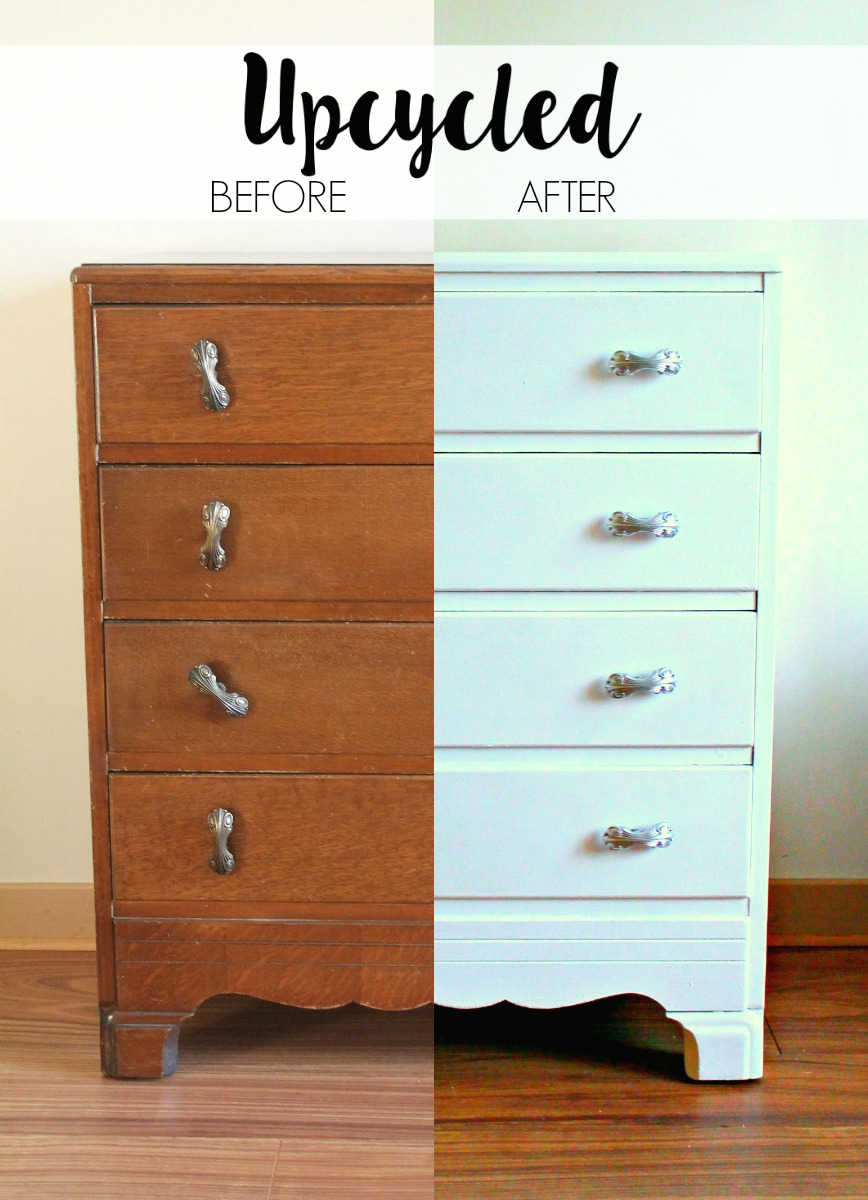 UPCYCLING AN OLD CHEST OF DRAWERS RUST OLEUM FURNITURE